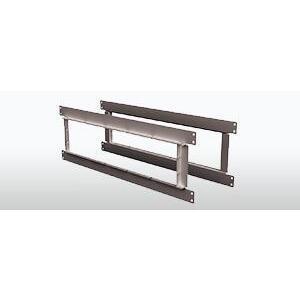 STI EZP544W Ser 44+ EZPath 5 Gang Wall Plate Kit