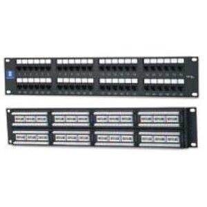 Bizline PPC5ERM48P Patch Panel, Cat 5e, 48 Port