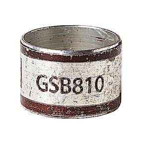 Thomas & Betts GSB810 TWO-PIECE INNER SLV CONN BROWN RND