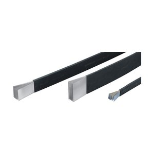 nVent Eriflex 505525 Flexibar, Flexible Tinned Copper Conductor, PVC Insulated, Length: 9.84'