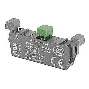 ABB MCBL-10 Switch, Micro, Contact Block, Modular, Snap On
