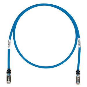 Panduit STP6X13BU Copper Patch Cord, Cat 6A, Blue S/FTP Ca