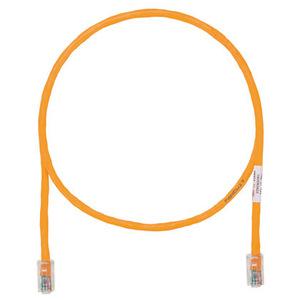 Panduit UTPCH3MORY Copper Patch Cord, Cat 5e, Orange UTP Ca