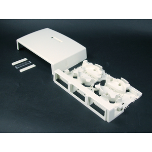 Wiremold CM-MMB-293 3 Insert 2800 Series Box Ivory