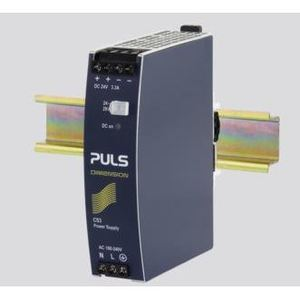 PULS CS3.241 Power Supply, 80W, 3.3A, 28VDC Output, 240VAC, 300VDC Input, IP20