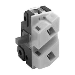 GE CR104PXC10E Pilot Device, Contact Block, 1NOEC, White, IP10