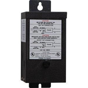 Progress Lighting P8652-31 Transformer, Remote, Hide-A-Lite, 100W, 12VDC, 120VAC, Black *** Discontinued ***