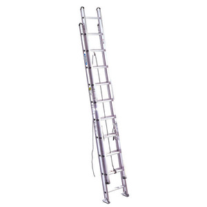 Werner Ladder D520-2 Aluminum Extension Ladders