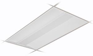 Day-Brite 2FGG42B835-4-D-UNV-DIM FluxGrid LED Luminaire, 3500K, 2x4'