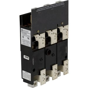Square D D10S4 DISCONNECT SWITCH 600VAC 200A D10