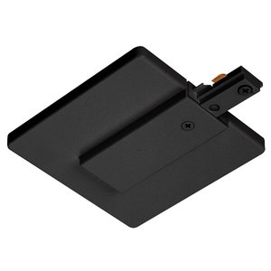 Juno Lighting R21-BL End Feed Connector and Outlet Box Cover, Black