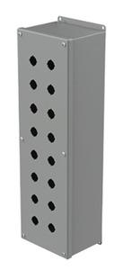 nVent Hoffman E16SPBXVM Deep PB Enclosure, N12, 21x6x5