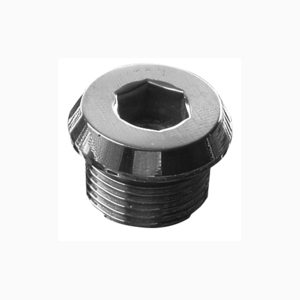 "Appleton 767DT15 Plug Stopper, Size: 1/2"", Material: Nickel Plated Brass"