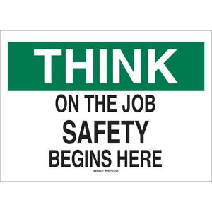 25334 SAFETY SLOGANS SIGN
