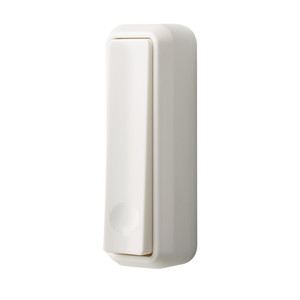 Nutone PB340K Kinetic Wireless White Doorbell Pushbutton