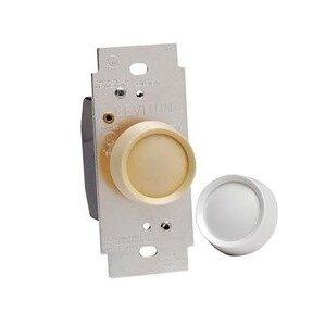 Leviton RDL06-TW Rotary Dimmer Knob, 120 Amp, 600 Watts