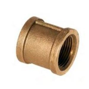 Merit Brass XNL111-12 BRASS 3/4-BRS-CPL 3/4IN COUPLING