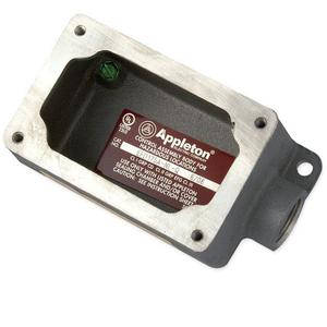 "Appleton EFD175A-NL-Q Mounting Body, EFD TYPE, 3/4"", 1-Gang, Dead-End, Aluminum"