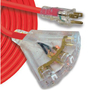 545650 EXT CORD 12/3 1M STW YELLOW