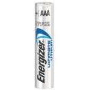 Energizer L92BP-2 1.5V, Ultimate Lithium, AAA Battery, Package of 2