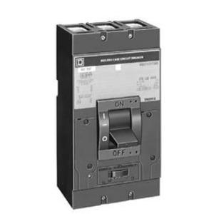 Square D LAF363001039 Breaker, Molded Case, 300A, 3P, 600VAC, 12VDC Shunt Trip, No Lugs