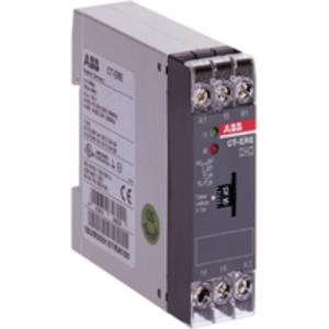 ABB 1SVR550107R4100 Timing Relay, On-Delay, 0.3 - 30 Second, 1C/O, 240VAC, 24V AC/DC
