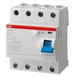 ABB F204AC-40/0.03 40A, 4P, 480Y/277V, UL 1053, Residual Current