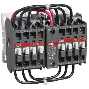 ABB A9N00R-10-84 3P, Reversing Contactor, NEMA 00, 120VAC