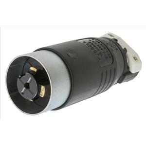 Hubbell-Kellems HBL25415B H/lock Plug, 4p5w, 30a 600v