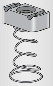 Power-Strut PSLS-1/4-EG P-strut Ps-ls-1/4-eg Ps Ls; Clampin