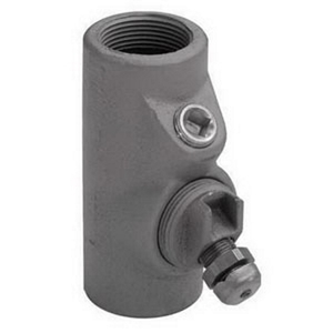 "Appleton EYDEF150AL Sealing Fitting, Female, Explosionproof, Vertical, 1-1/2"", Aluminum"