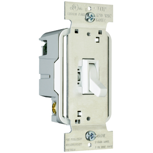 Pass & Seymour T600-W TOGGLE DIMMER 600W/SP W
