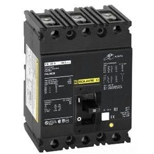 Square D FAL341001422 Breaker, Molded Case, 3P, 100A, 480VAC, 250VDC, F Frame, Shunt Trip *** Discontinued ***