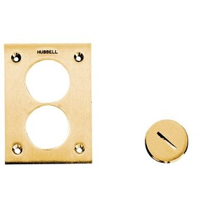 "Hubbell-Kellems S5007 HUBBELL S5007 1.5"" FLUSH PLUGFOR FLOOR BOX"