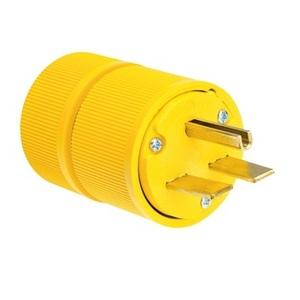 Pass & Seymour D0631 Plug, 30A, 250V, 6-30P, 2P3W, Yellow