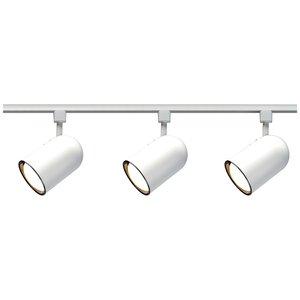 Satco TK322 3-Lights R30 Bullet Cylinder Track Lighting Kit