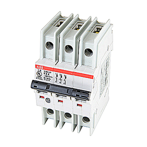 ABB S203UP-K6 Breaker, Miniature, 3-Pole, 6 Amp *** Discontinued ***