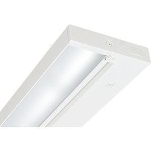 "Juno Lighting ULH109-WH Undercabinet Light, Halogen, 1-Light, 9-1/2"", 20W, 12V"