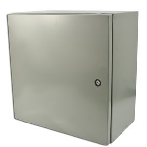 "nVent Hoffman CSD20206 Wall Mount Enclosure, NEMA 4/12, Concept Style, 20"" x 20"" x 6"""