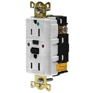 Hubbell-Wiring Kellems GFR8200SGW 15A/125V INDL. HG