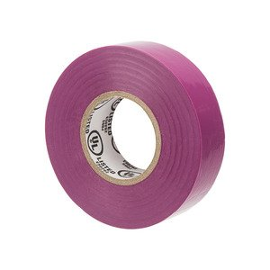 NSI Tork WW-716-7 WarriorWrap 7mil General Vinyl Electrical Tape Purple
