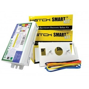 Hatch HC218PS/UV/K Electronic Ballast, Compact Fluorescent, 2-Lamp, 18W, 120/277V
