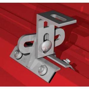 S-5! Attachment Solutions PROTEABRACKET-ALUM Adjustable Mounting Bracket, Aluminum