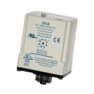 Symcom 201A-9 3-Phase Monitor 190-600V