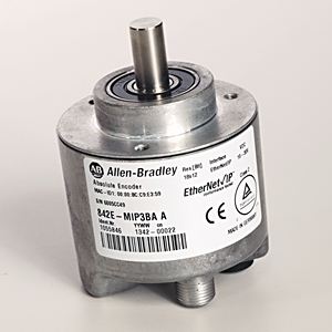 Allen-Bradley 842E-MIP3BA Encoder, Ether/IP, 4096 Multi-Turn, 262,144 Steps per Revolution