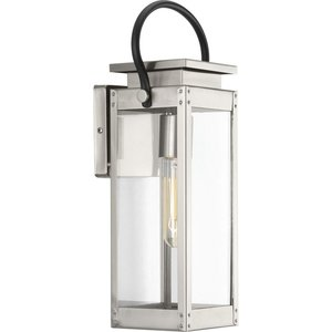Progress Lighting P560004-135 1-Lt. Stainless Steel Small Wall-Lantern
