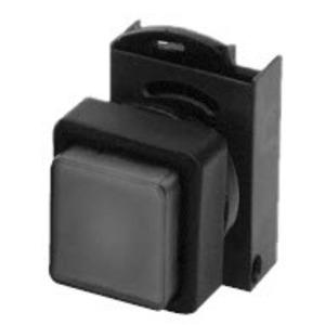 GE P9SPL0G0 Push Button, Illuminated, Square, No Lens, No Cap, Operator Only