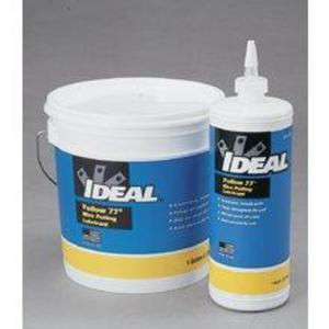 Ideal 31-351 Pulling Lube, 1 Gallon, Wax-Based, Yellow 77