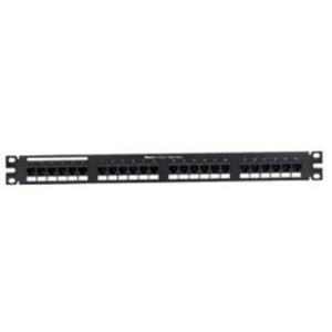 "Panduit DP245E88TGY Patch Panel, Cat 5e, 24 Port, 1 Unit Height, 19"" Width, 8P8C, RJ45"