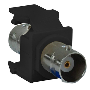 Leviton 41084-BEF Black Snap-In Adapter